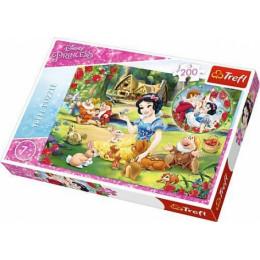 Trefl - Puzzle Disney Princess Królewna Śnieżka - Marzenia o miłości 200 el. - 13204