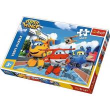 Trefl - Puzzle Maxi Super Wings - Wesołe samoloty 24 el. - 14252