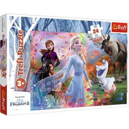 Trefl – Puzzle Maxi – Kraina Lodu II Frozen – 24 elementy – 14322