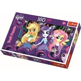 Trefl - Puzzle MLP Equestria Girls - Na balu 160 el. - 15311
