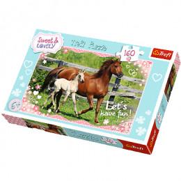 Trefl - Puzzle Sweet & Lovely Popołudniowy spacer 160 el. - 15331
