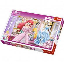 Trefl - Puzzle Disney Princess - Przygotowania do balu 100 el. - 16186