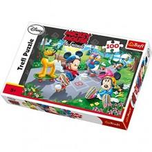 Trefl - Puzzle Myszka Miki - Na rolkach 100 el. - 16249