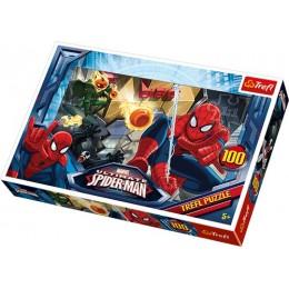 Trefl - Puzzle Spiderman - Ucieczka 100 el. - 16259