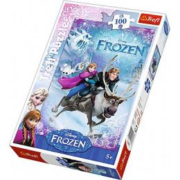Trefl - Puzzle Kraina Lodu - Na ratunek Annie 100 el. - 16273