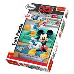 Trefl - Puzzle Myszka Miki i Kaczor Donald 100 el. - 16291