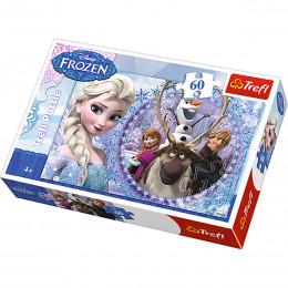Trefl - Puzzle Przyjaciele z Krainy Lodu 60 el. - 17275