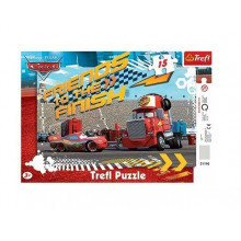 Trefl - Puzzle z ramką Cars Auta - Zygzak i Marian 15 el. - 31110