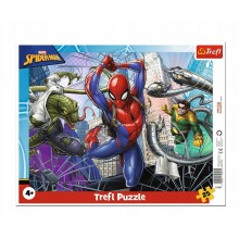 Trefl – Puzzle ramkowe 25 elementów – Spiderman – 31347