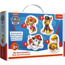 Trefl – Moje pierwsze puzzle – Psi Patrol – 18 elementów – 36087