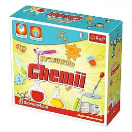 Trefl - Science4you - Pracownia chemii - Doświadczenia dla dzieci 61116