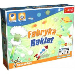 Trefl - Science4you - Fabryka rakiet - Doświadczenia dla dzieci 60562