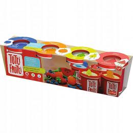 Trefl Tutti Frutti - Pachnąca ciastolina - Zapachy lata - 4 tubki 512g 60734