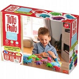 Trefl Tutti Frutti - Pachnąca ciastolina - Tworzymy dinozaury 60744