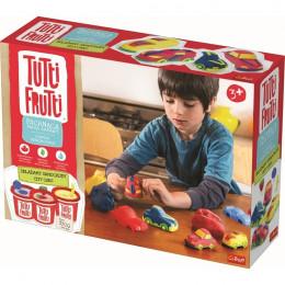 Trefl Tutti Frutti - Pachnąca ciastolina - Składamy samochody 60745