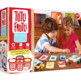 Trefl Tutti Frutti - Pachnąca ciastolina - Wyklejamy kształty i figury 60747