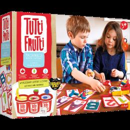 Trefl Tutti Frutti - Pachnąca ciastolina - Wyklejamy literki i cyferki 60748