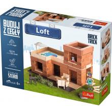 Trefl Brick Trick - Buduj z cegły - Loft 60872