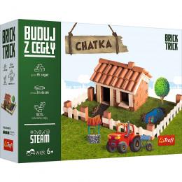 Trefl - Brick Trick - Buduj z cegły - Chatka 60874