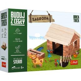 Trefl - Brick Trick - Buduj z cegły - Zagroda 60875
