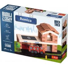 Trefl Brick Trick - Buduj z cegły - Remiza 60876