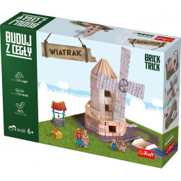 Trefl Brick Trick - Buduj z cegły - Wiatrak 60878