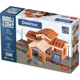 Trefl - Brick Trick - Buduj z cegły - Dworzec 60880