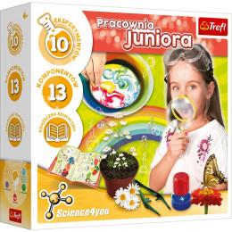 Trefl - Science4you - Pracownia Juniora - Eksperymenty dla dzieci 61014