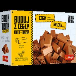 Trefl - Brick Trick - Buduj z cegły - Zestaw uzupełniający 40 cegiełek 61034