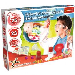 Trefl - Science4You - Fabryka chemicznych eksperymentów 61102