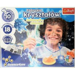 Trefl - Science4You - Fabryka świecących w ciemności kryształów 61103