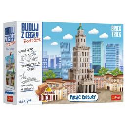 Trefl Brick Trick - Buduj z cegły: Podróże - Pałac Kultury - 61383