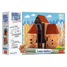 Trefl Brick Trick - Buduj z cegły: Podróże - Żuraw Gdański - 61385