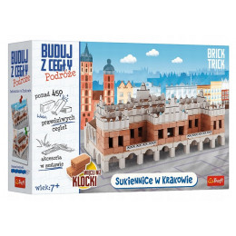 Trefl Brick Trick - Buduj z cegły: Podróże - Sukiennice w Krakowie - 61386