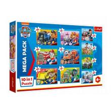 Trefl – Puzzle ekipa Psiego Patrolu – 10w1 – 90355