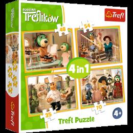Trefl - Duopack – Trefliki 4w1 + Chińczyk - 90963