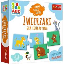 Trefl - ABC Malucha - Gra edukacyjna - Zwierzaki - 01940