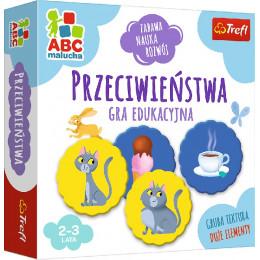 Trefl - ABC Malucha - Gra edukacyjna - Przeciwieństwa - 01943