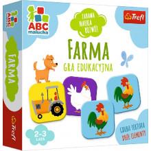 Trefl - ABC Malucha - Gra edukacyjna - Farma - 01944