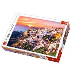 Trefl - Puzzle Zachód słońca nad Santorini 1000 el. - 10435