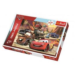 Trefl - Puzzle Cars Auta - Wyprawa w góry 200 el. - 13208