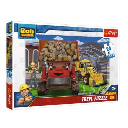 Trefl - Puzzle Maxi Bob Budowniczy - Damy radę! 24 el. - 14246