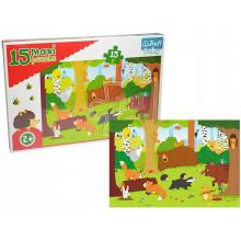 Trefl - Puzzle Maxi Baby - Zwierzęta w Lesie - 14276