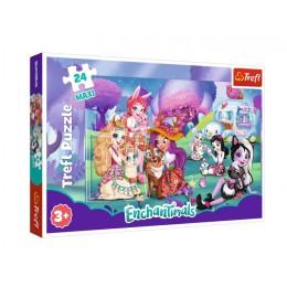Trefl – Puzzle Maxi 24 elementy – Enchantimals – 14315