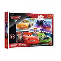 Trefl - Puzzle Auta Cars - Zwycięski wyścig 160 el. - 15356