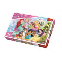 Trefl - Puzzle Disney Princess - Księżniczki i przyjaciele 160 el. - 15364
