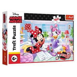 Trefl - Puzzle 160 el. Myszka Minnie - Dzień z przyjaciółką - 15373