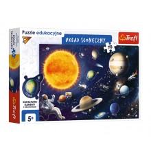 Trefl – Puzzle edukacyjne – Układ słoneczny – 15559