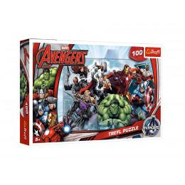 Trefl - Puzzle Avengers - Do ataku 100 el. - 16272