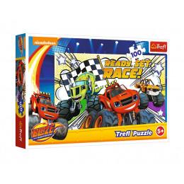 Trefl - Puzzle Blaze - Gotowi na wyścig 100 el. - 16301